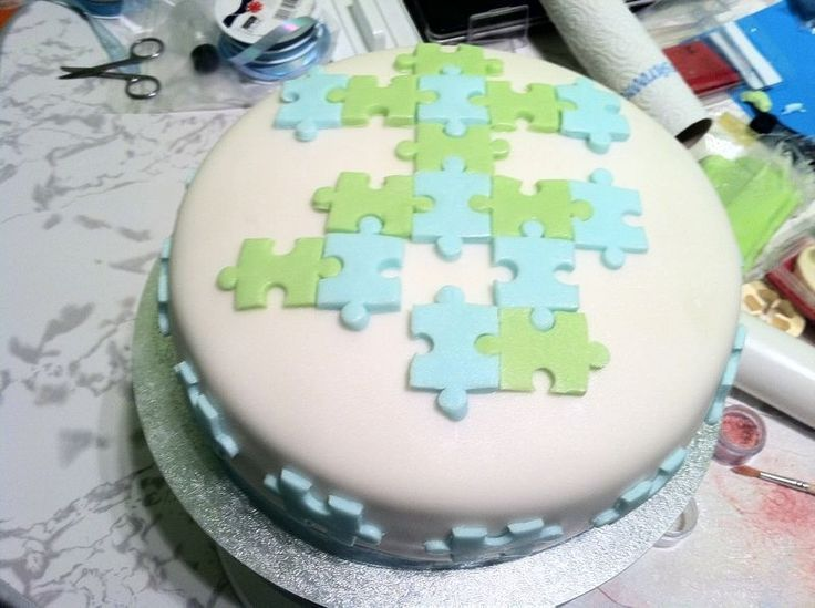 Jigsaw Puzzle Cake Ideas Google Search Cakes
