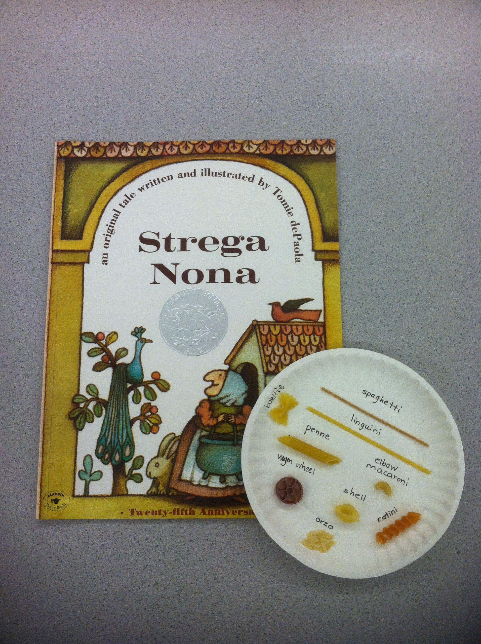 Strega Nona By Tomie Depaola Pasta Vocabulary