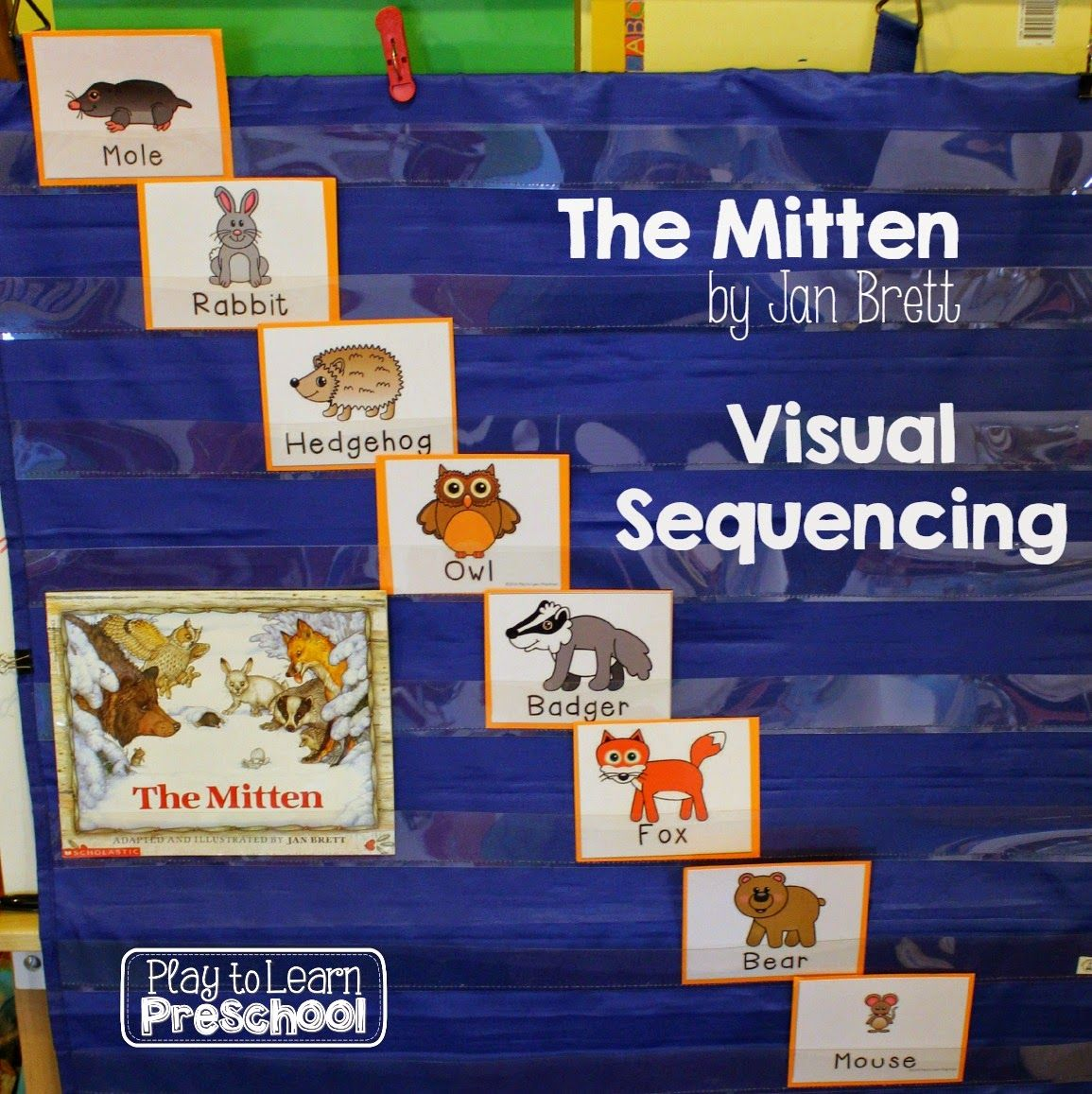 The Mitten Visual Sequencing From Play To Learn Preschool