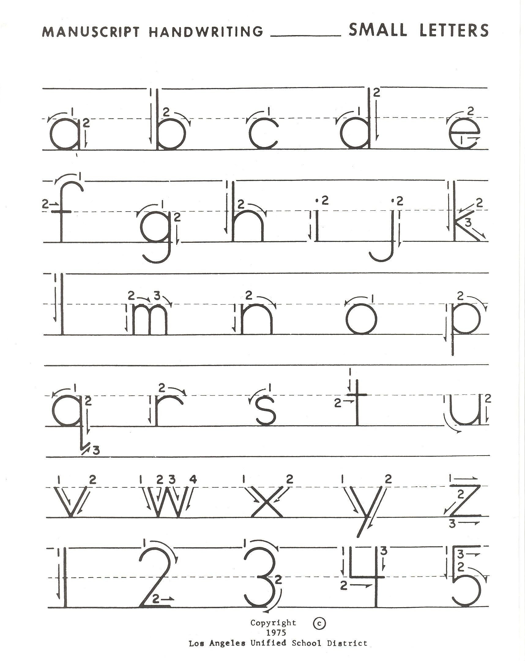 Practise Writing Alphabet Worksheet For Kindergarten