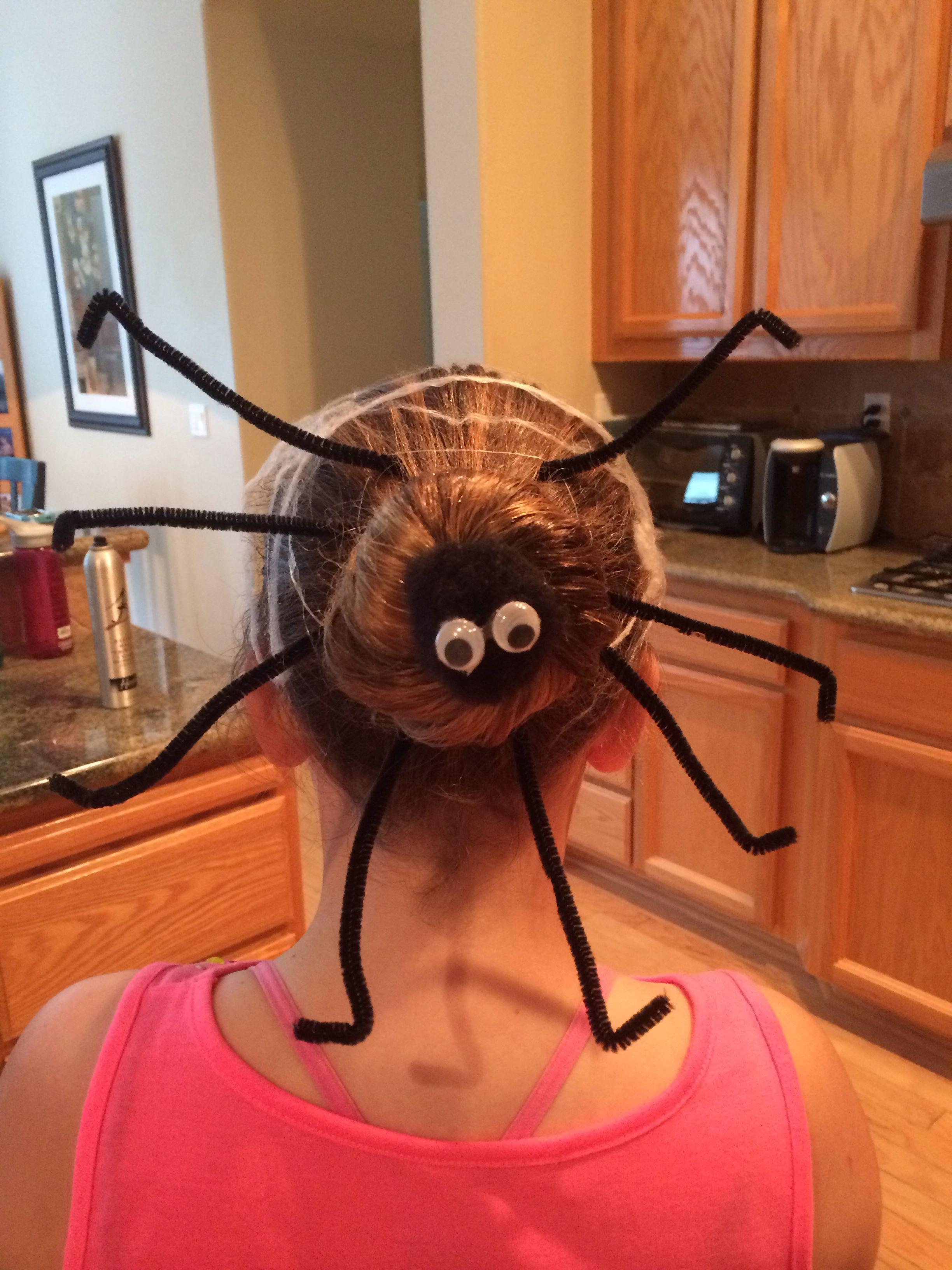 Halloween Spider Crazy Hair Day Halloween Pinterest