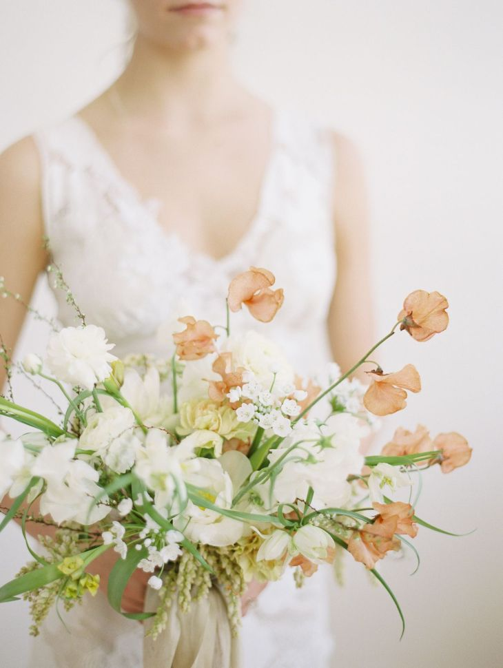 Easter Wedding Inspiration with Norwegian Traditions  White flowers
