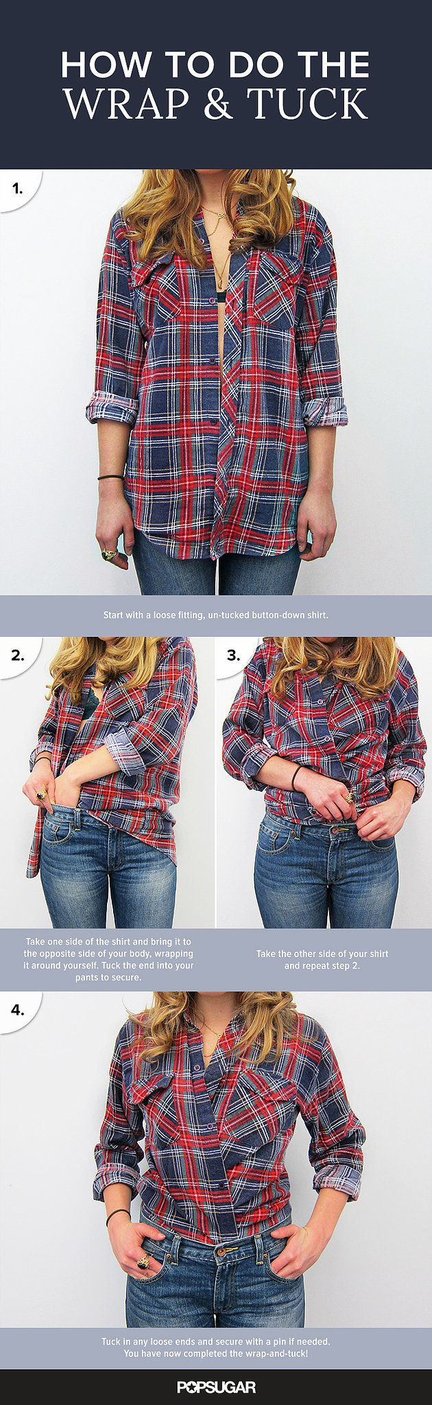 Have You Mastered This Supereasy Styling Trick For ButtonDowns