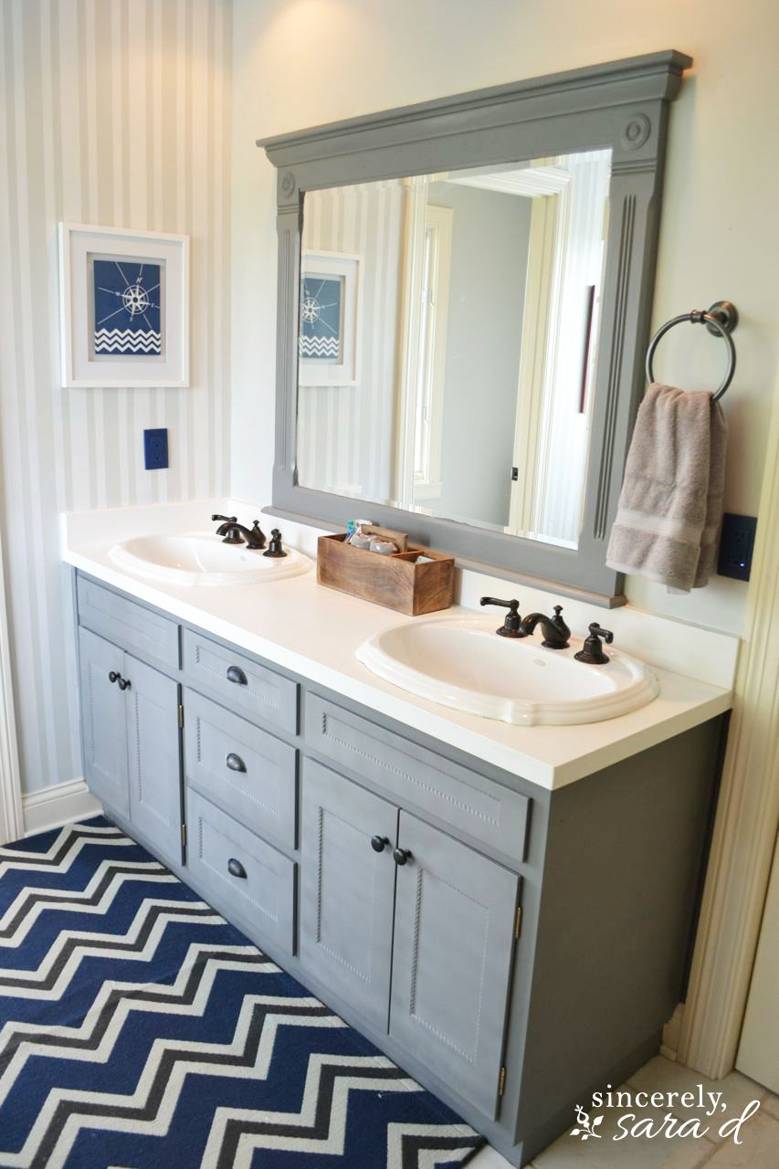 painting bathroom cabinets and which shortcuts to take (and avoid