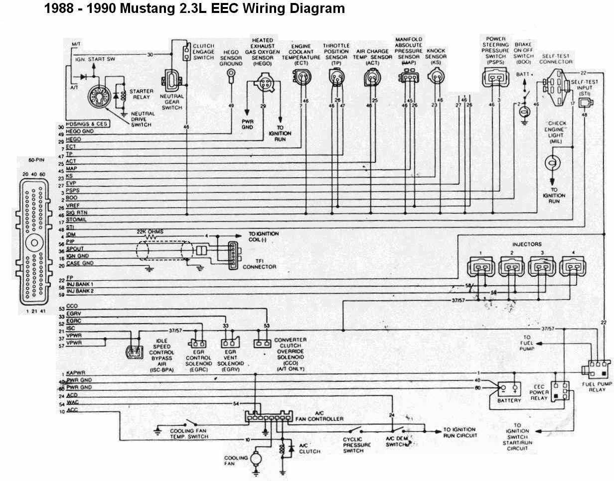 Mustang 2 3 Wiring Diagram