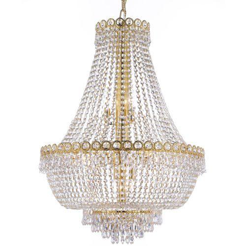 Lighting By Pecaso Ashonte Gold Chandelier 30 L X 24 W 27lbs
