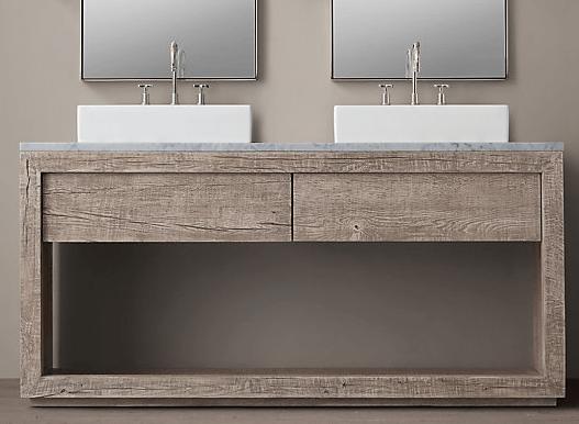 donna's blog: bathroom design bathroom vanities | reclaimed