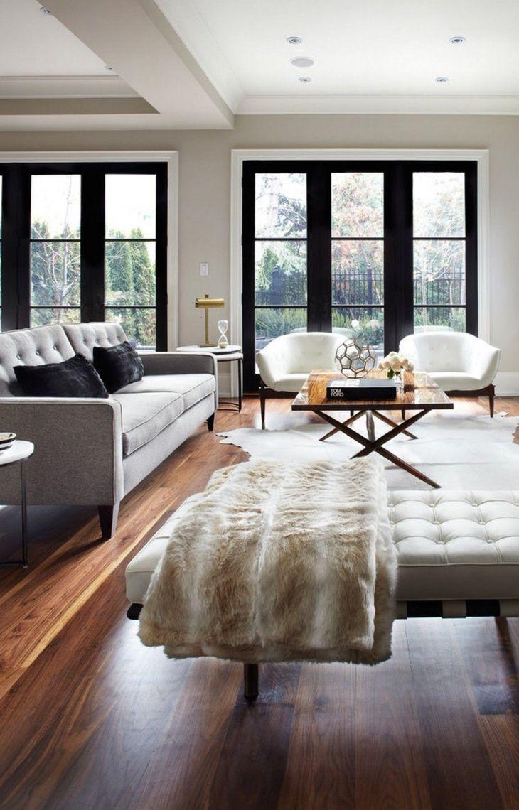 cool MidCentury Modern Living Room Interior Design