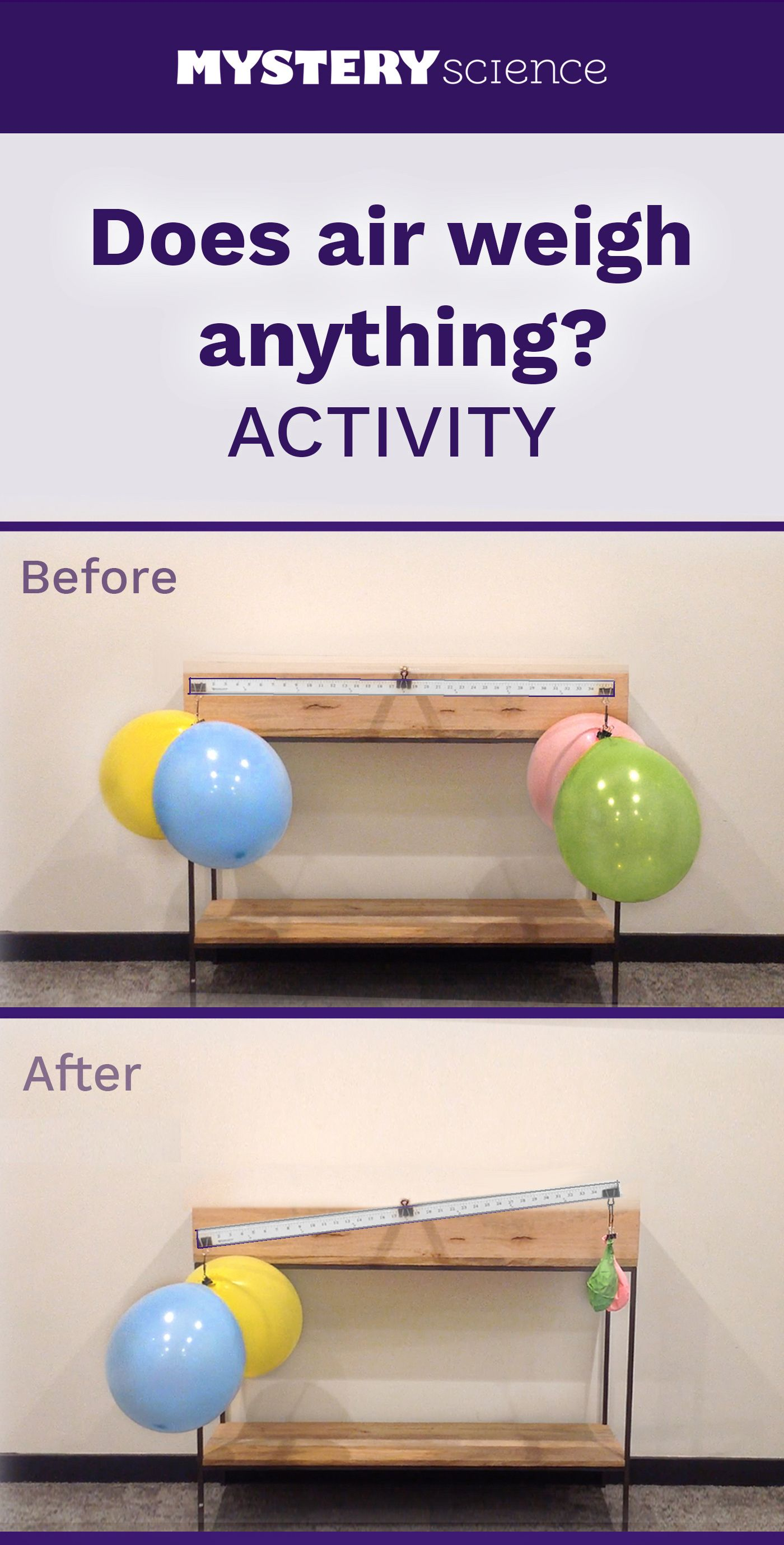 Weight Of Air Activity