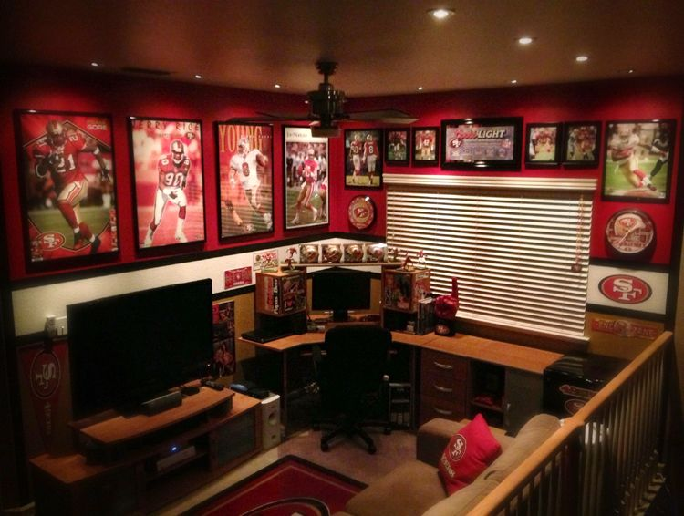 Best 25 49ers Room Ideas On Pinterest DIY 49ers Party 49ers Fans And 49ers Quotes