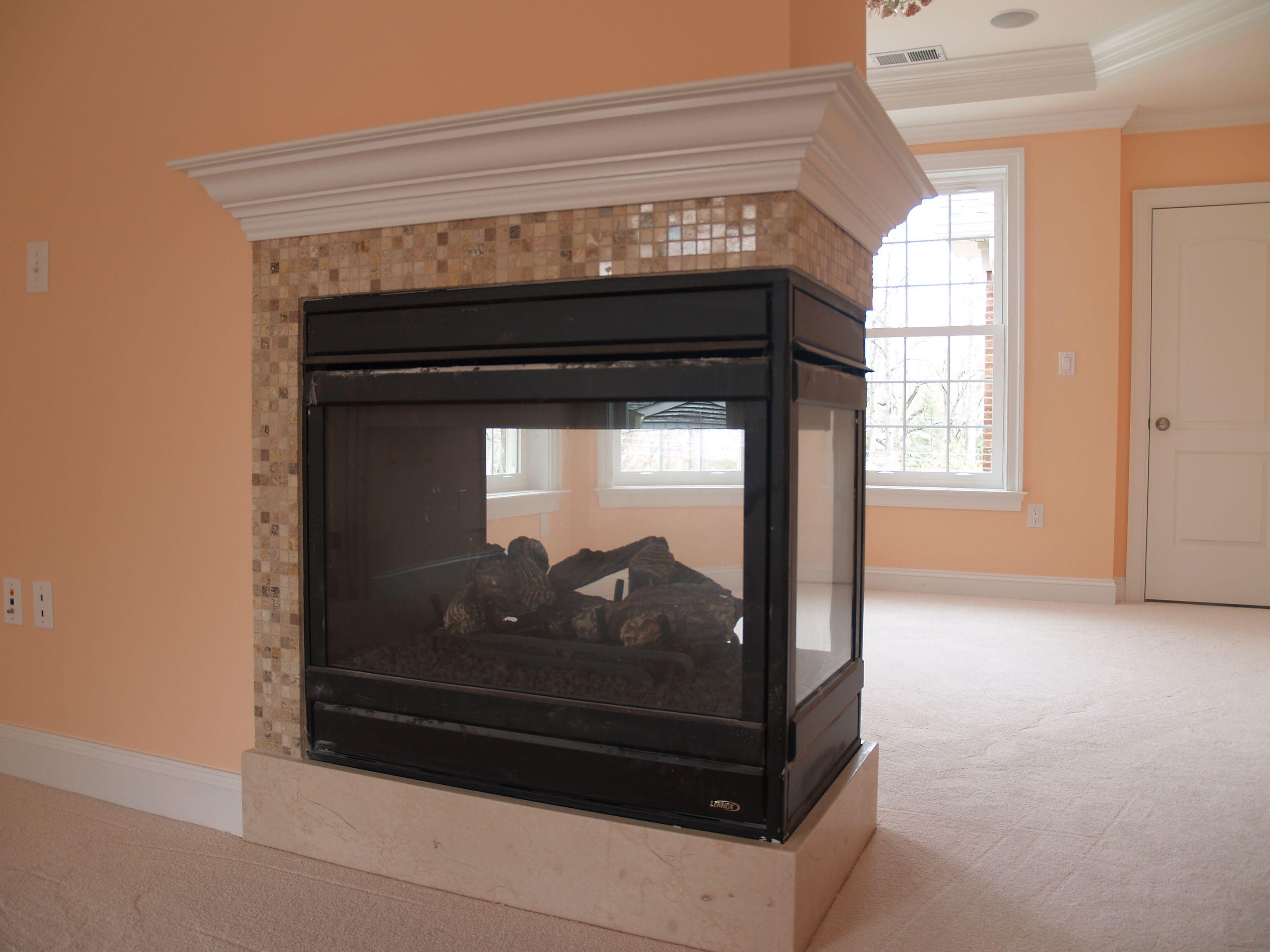Three Sided Gas Fireplace Model Edvpf By Lennox Hearth