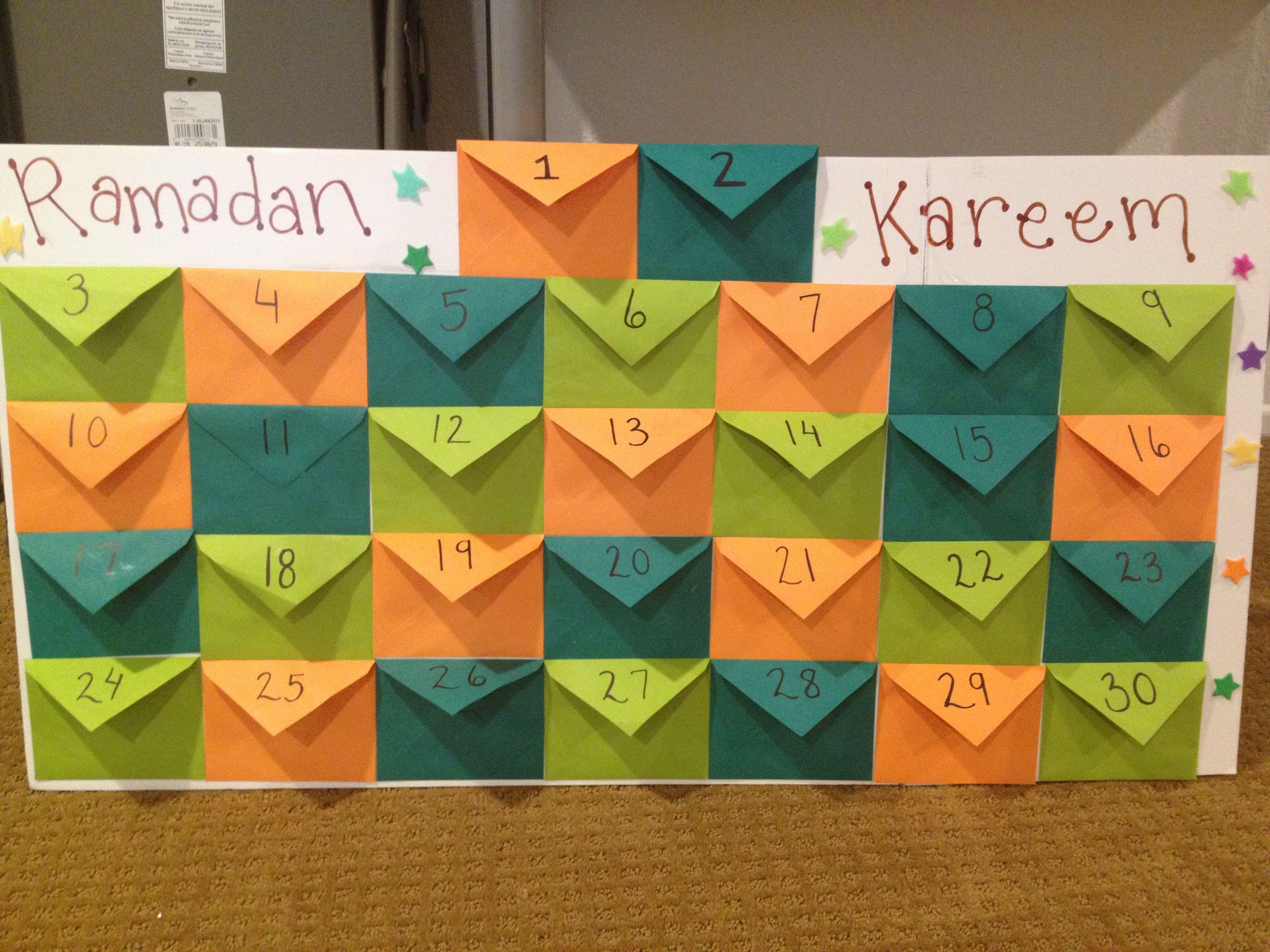 Ramadan Advent Calendar Each Flap Reveals A Hadith To