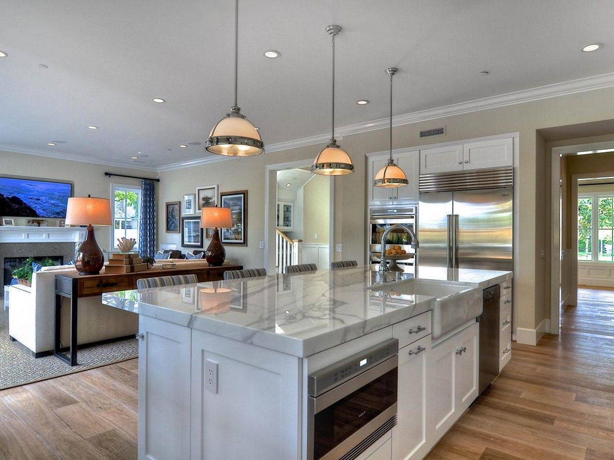 open concept kitchen and living room layouts jpg 1241 931 ideas for the house pinterest on kitchen remodel with island open concept id=82718