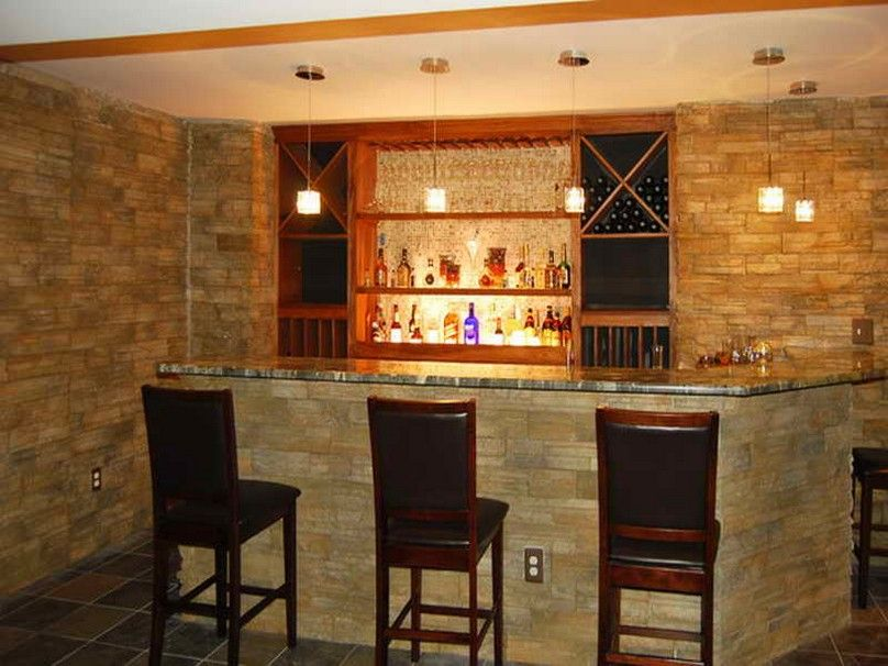 Home Bar Decorating Ideas For
