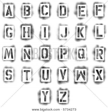 Spray paint letter spray paint letter templates spray paint letter templates home painting spiritdancerdesigns Image collections