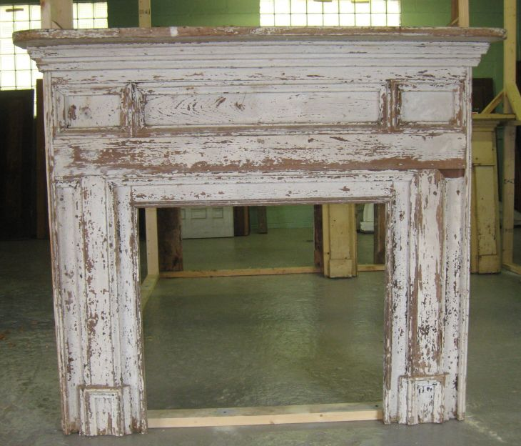 Architectural Salvage Old Mantle Elements of ARCHITECTURE