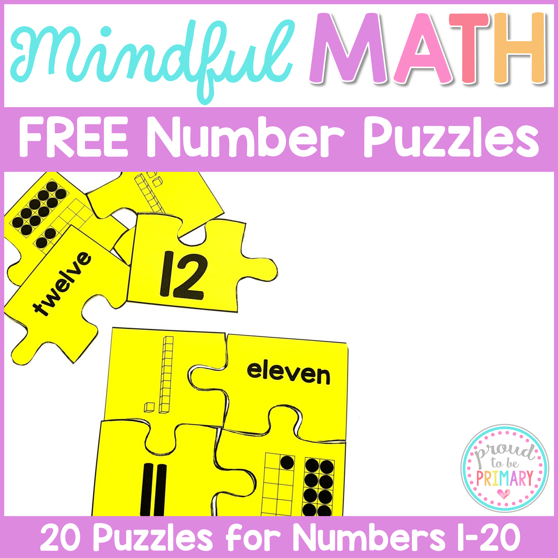 Activities For Building Number Sense To 20