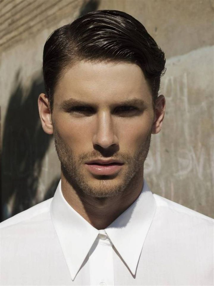 Formal short hairstyle for wedding Men Hairstyles
