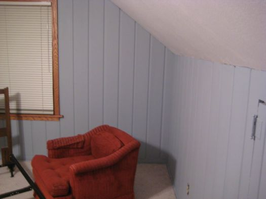 Al Improvement Painting Faux Wood Paneling Put That On Your