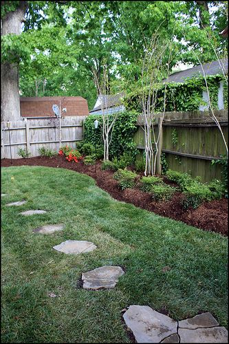 landscaping for shady back yards houston | backyard ... on Shady Yard Ideas id=62459