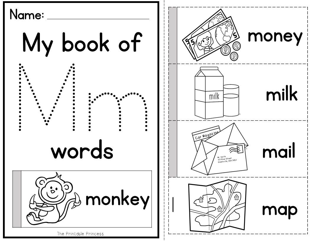 Alphabet Flip Books So Much Fun And Learning With One Piece Of Paper