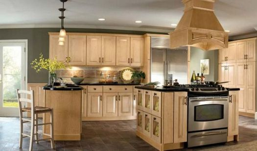 Kitchen Images With Light Cabinets Great Best Color