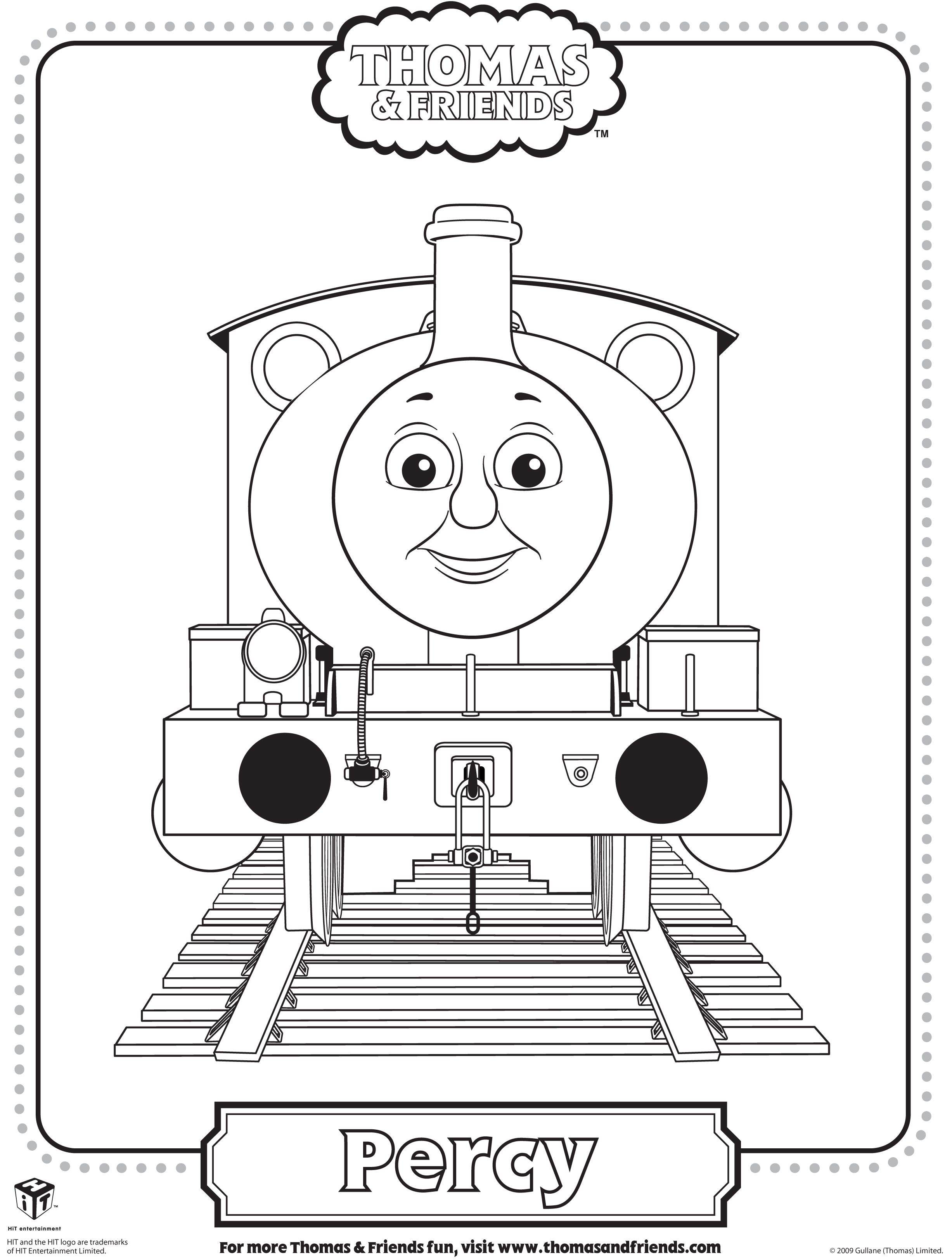 Thomas Percy Coloring Pages