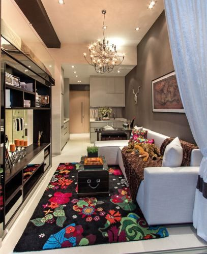 Dekorasi Ruang Tamu Rumah Flat Ayu Rashid Best 25 Apartment Interior Design Ideas On