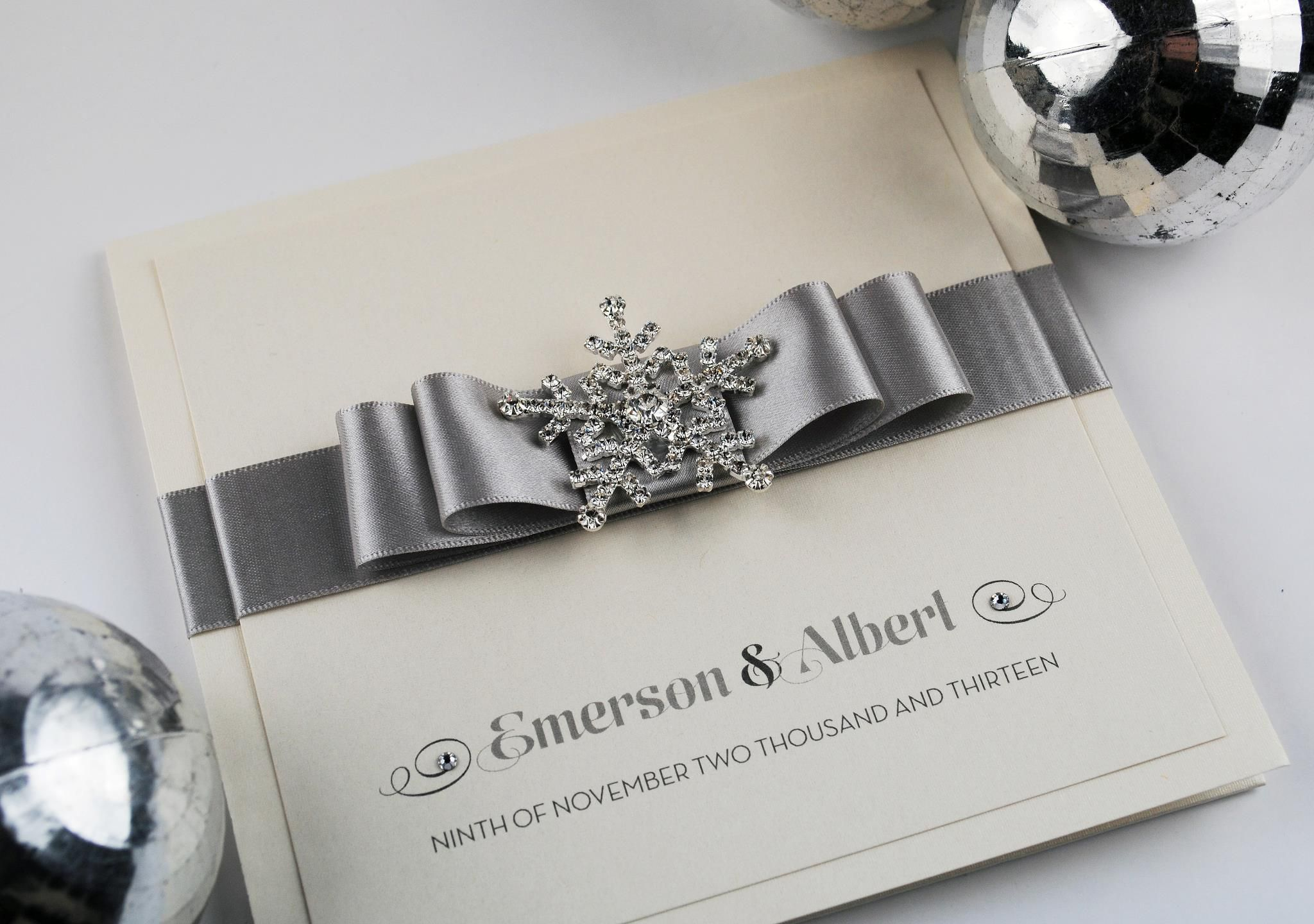 Winter Wedding Invitation Designs Uk