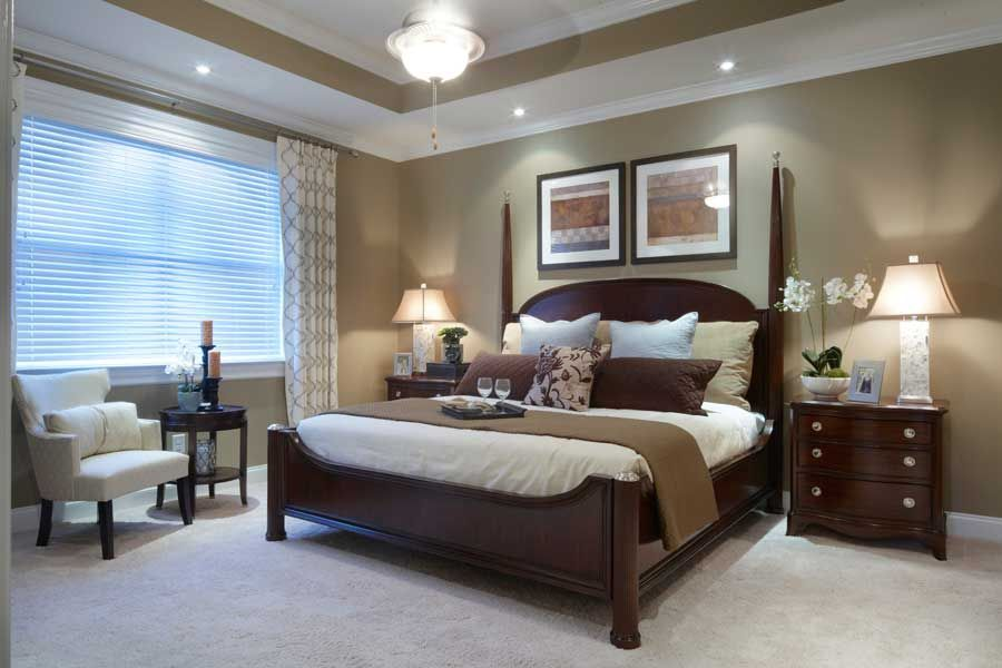 great master bedroom wall color with white molding 4 on wall color ideas id=69426