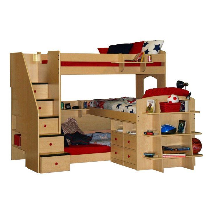 DIY Triple Bunk Bed Plans  Triple Bunk Berg Furniture said Iull