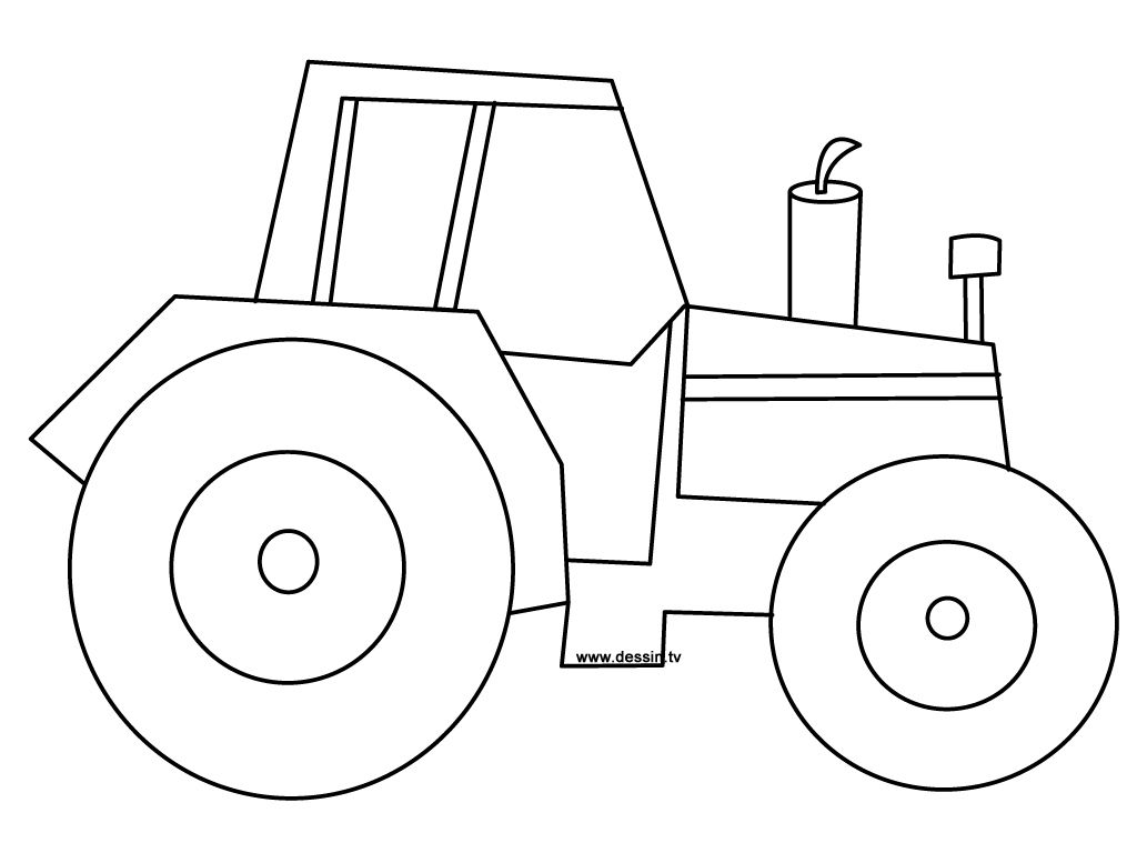 Tractor Pictures To Print And Color