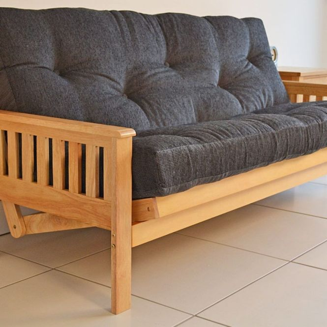 Double Futon Sofa Bed Wood