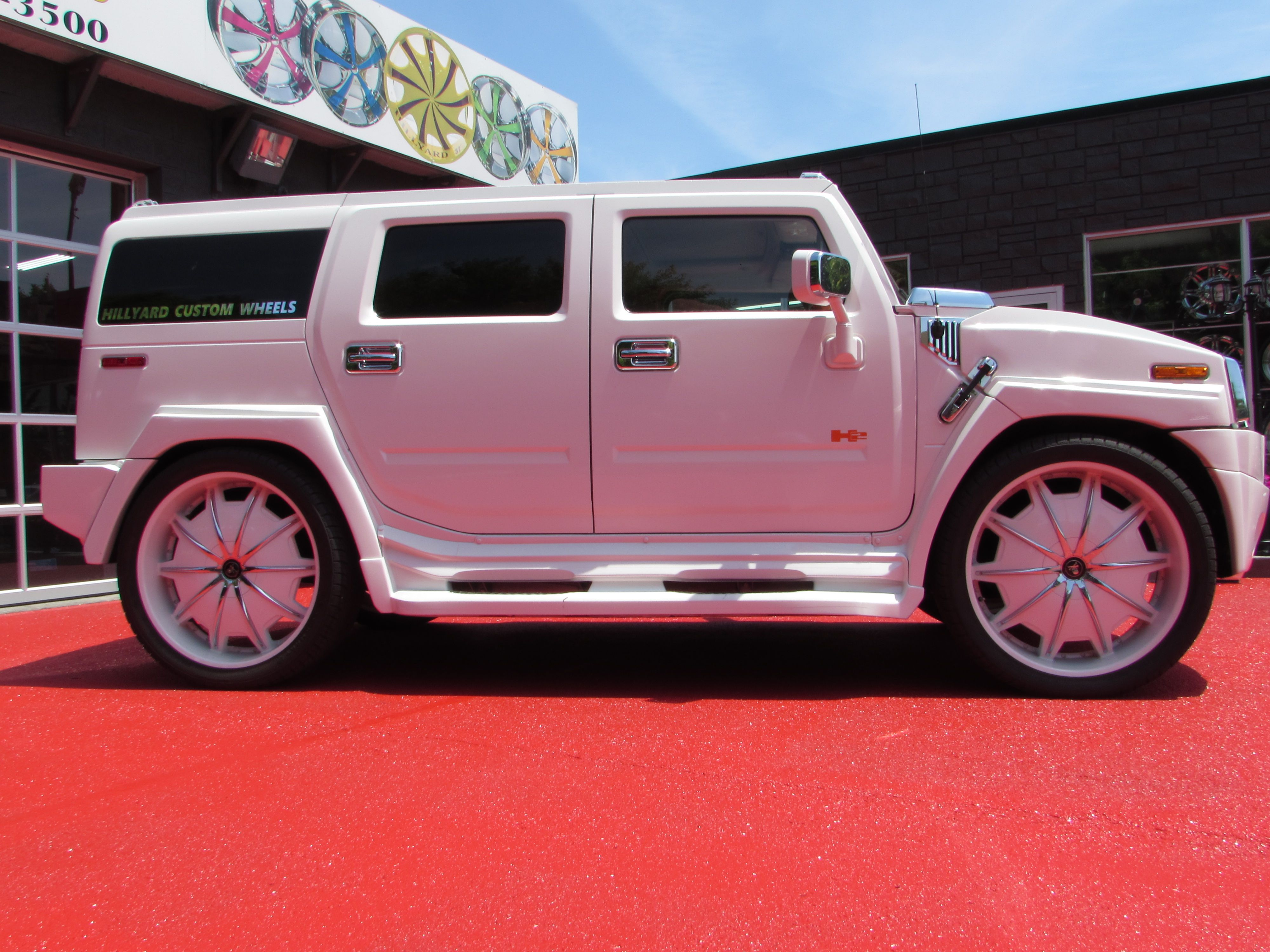 WORLDS MOST EXPENSIVE HUMMER H2 RIDING ON 32 IN FORGIATOS
