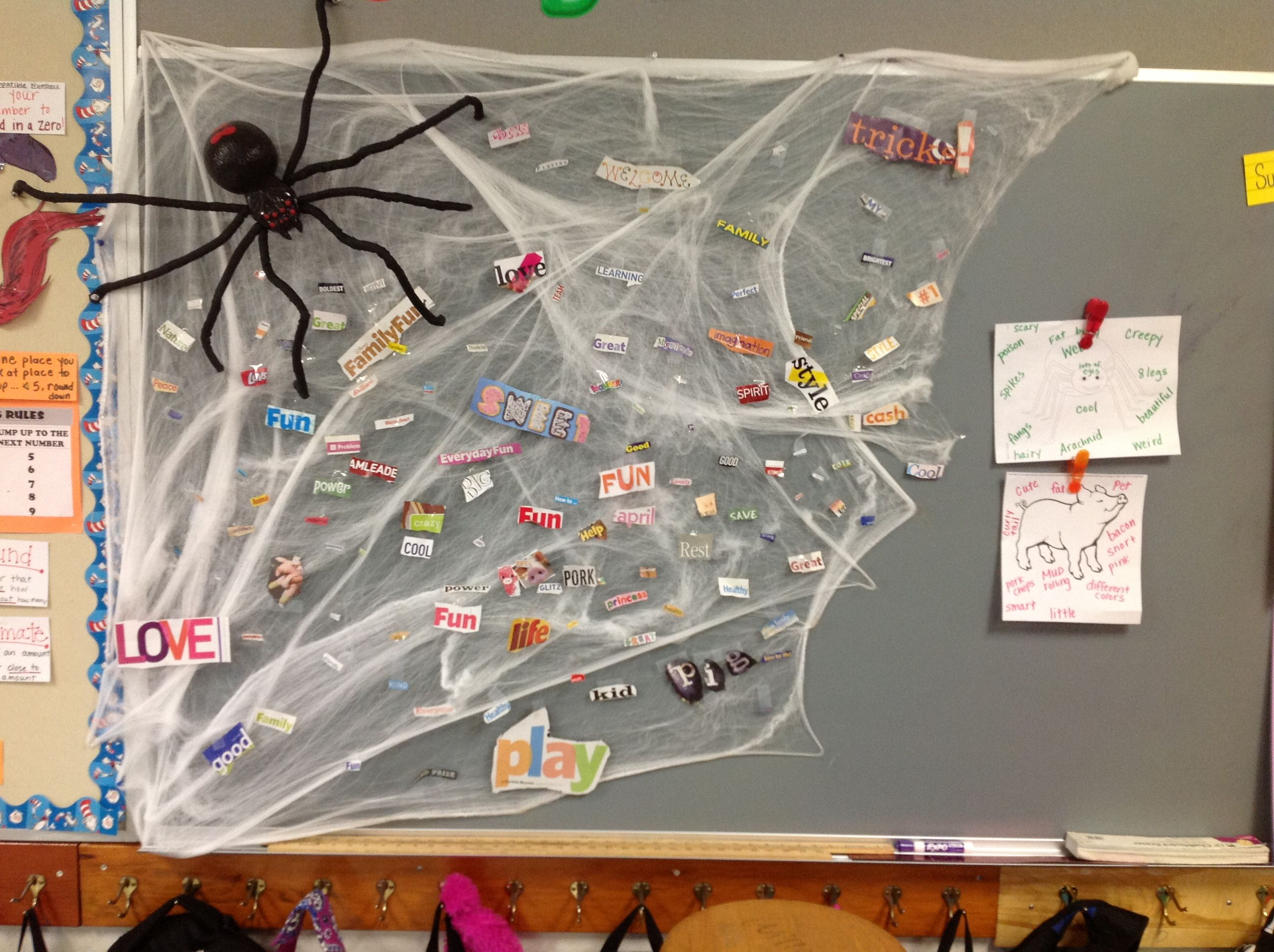 Charlotte S Web Activity We Cut Out Words From Magazines