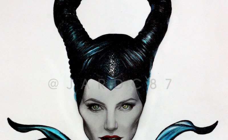 Disney Maleficent Face Drawing Beauty Within Clinic