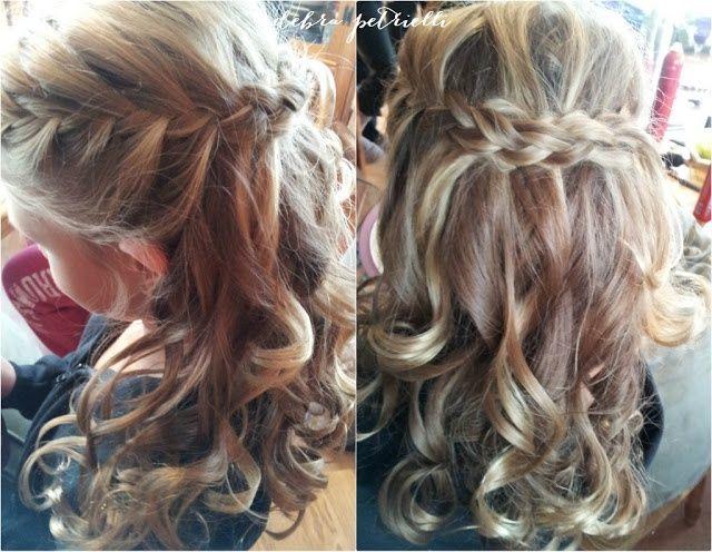 Flower Girl Hairstyles Half Up Half Down