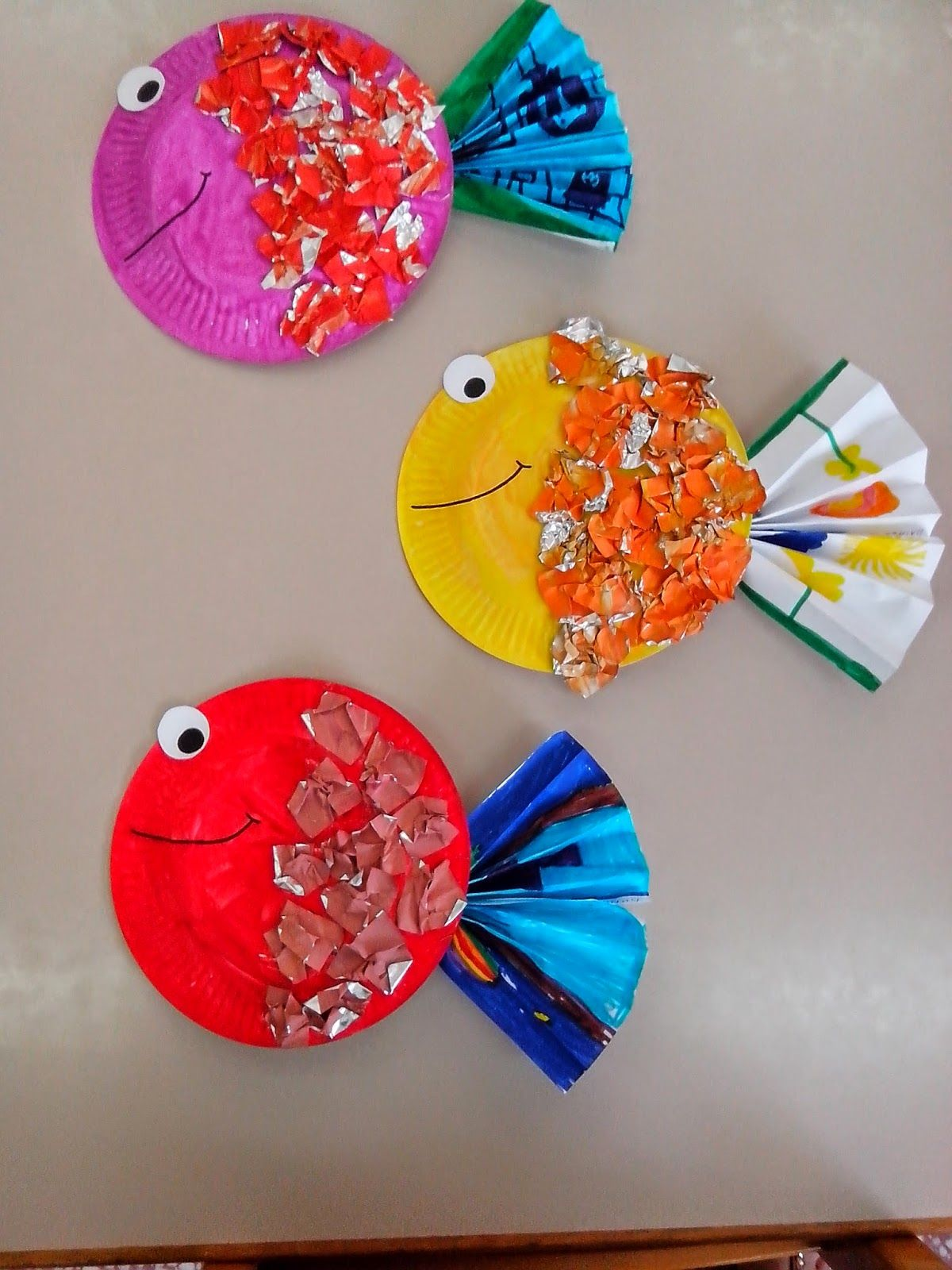 Maro S Kindergarten Tropical Fish Craft