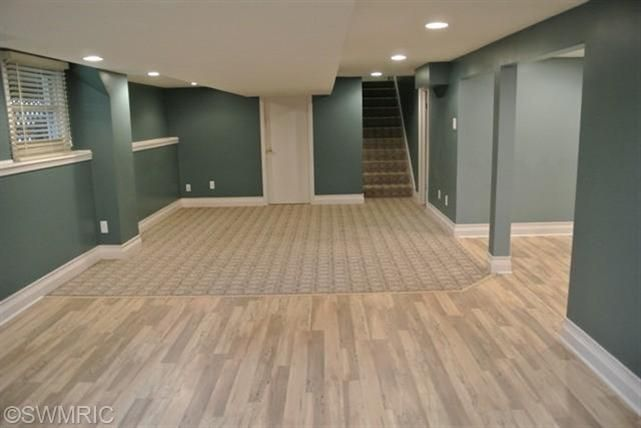 finished basement color and wood flooring house ideas on basement color palette ideas id=90672
