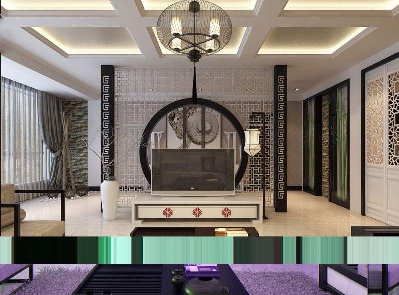 Modern chinese decor for Modern oriental decor