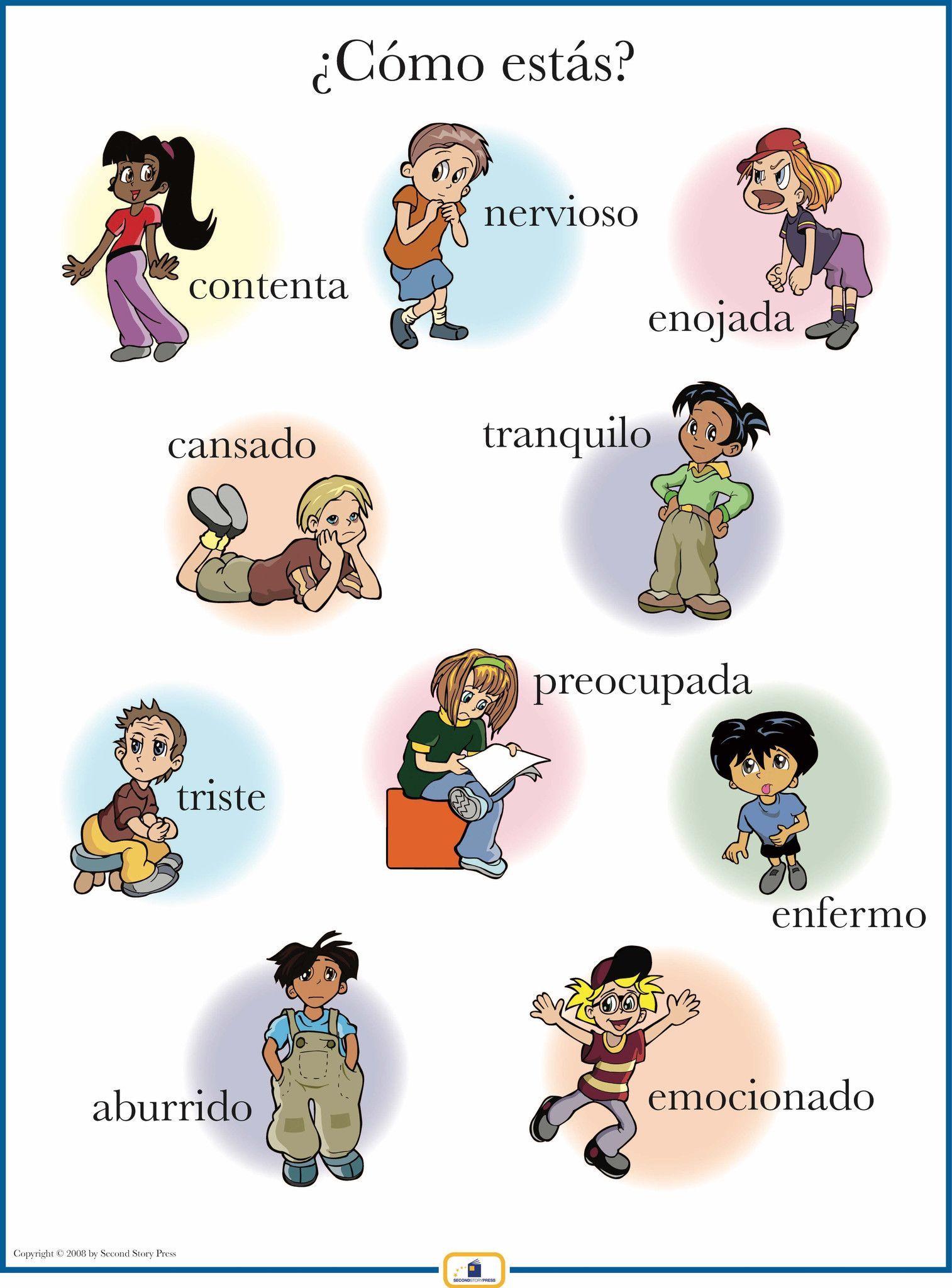Spanish Emotions Poster