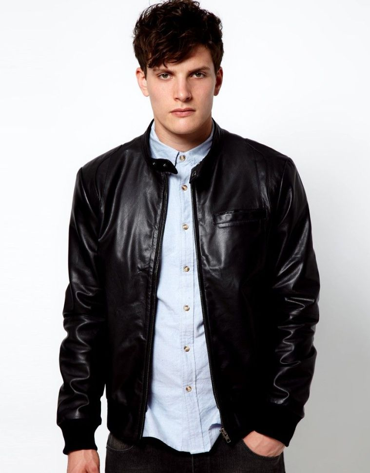 Image result for leather jackets for man's wardrobe