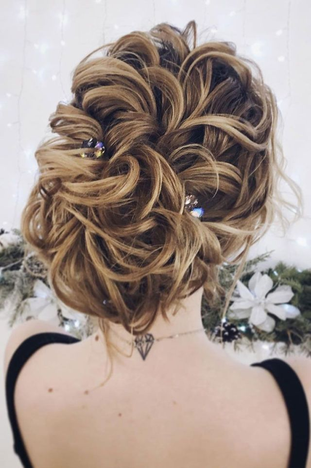 gorgeous updo wedding hairstyle to inspire you - fabmood