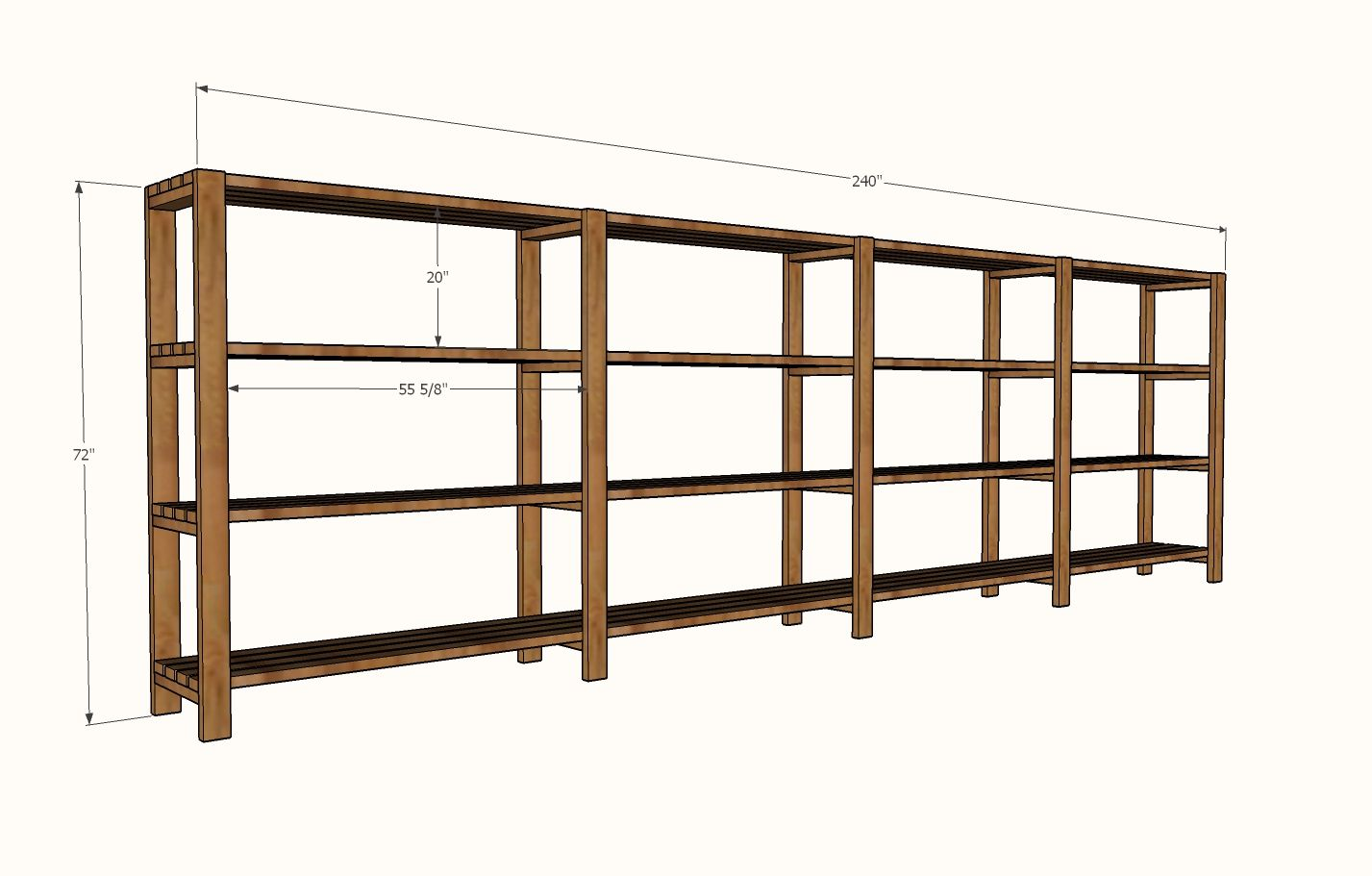 ana white build a easy economical garage shelving from on top 55 best garage workshop ideas basics of garage workshop ideas explained id=54305