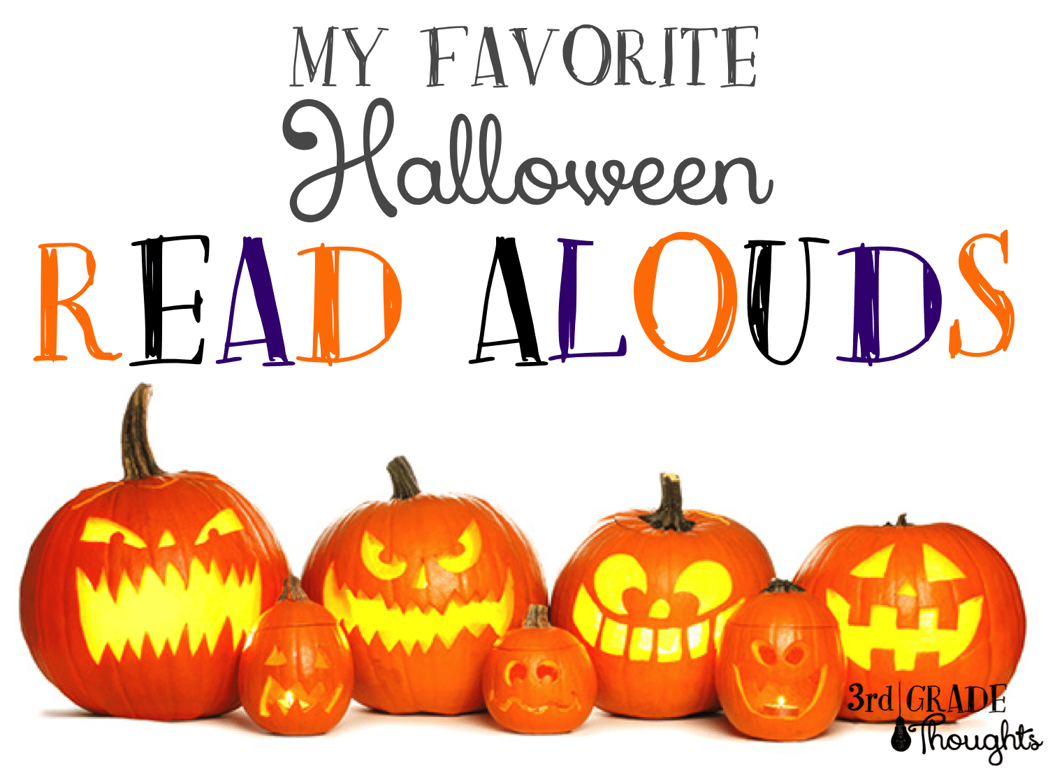 My Favorite Halloween Read Alouds