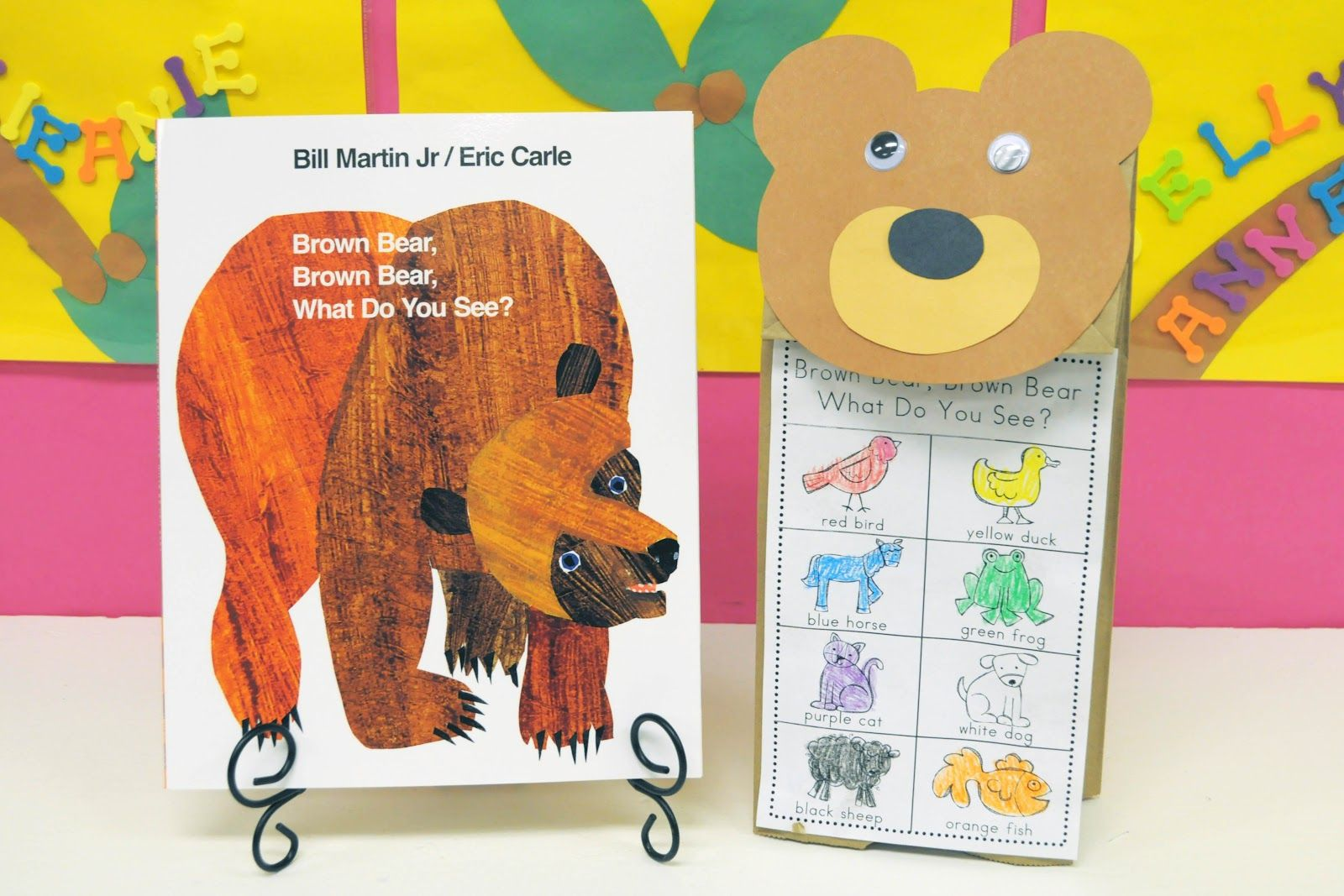 Brown Bear Brown Bear What Do You See Paper Bag Craft