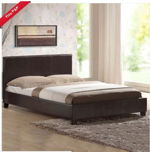 Mattress Leather Bed Double