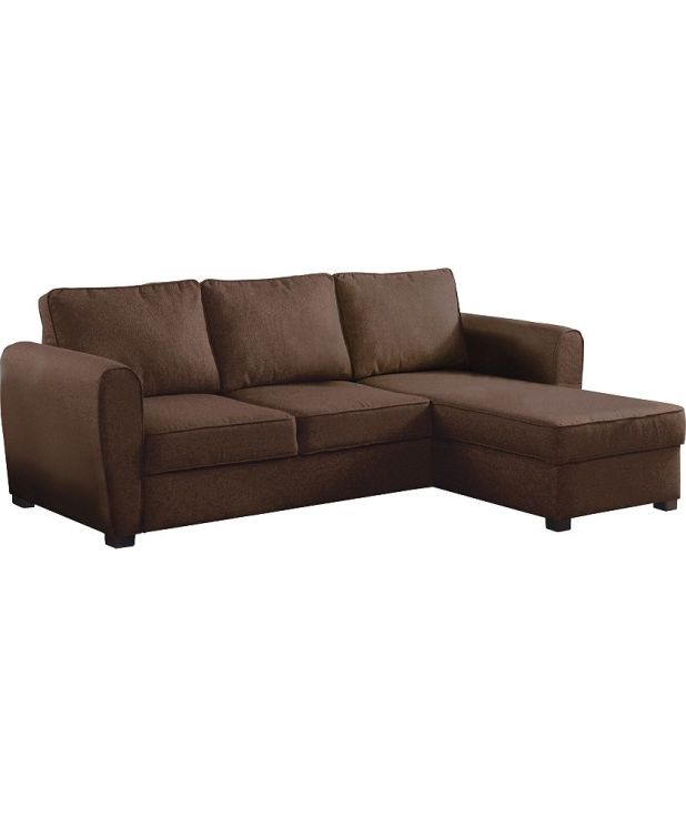 Argos chocolate corner sofa for Argos chaise sofa bed