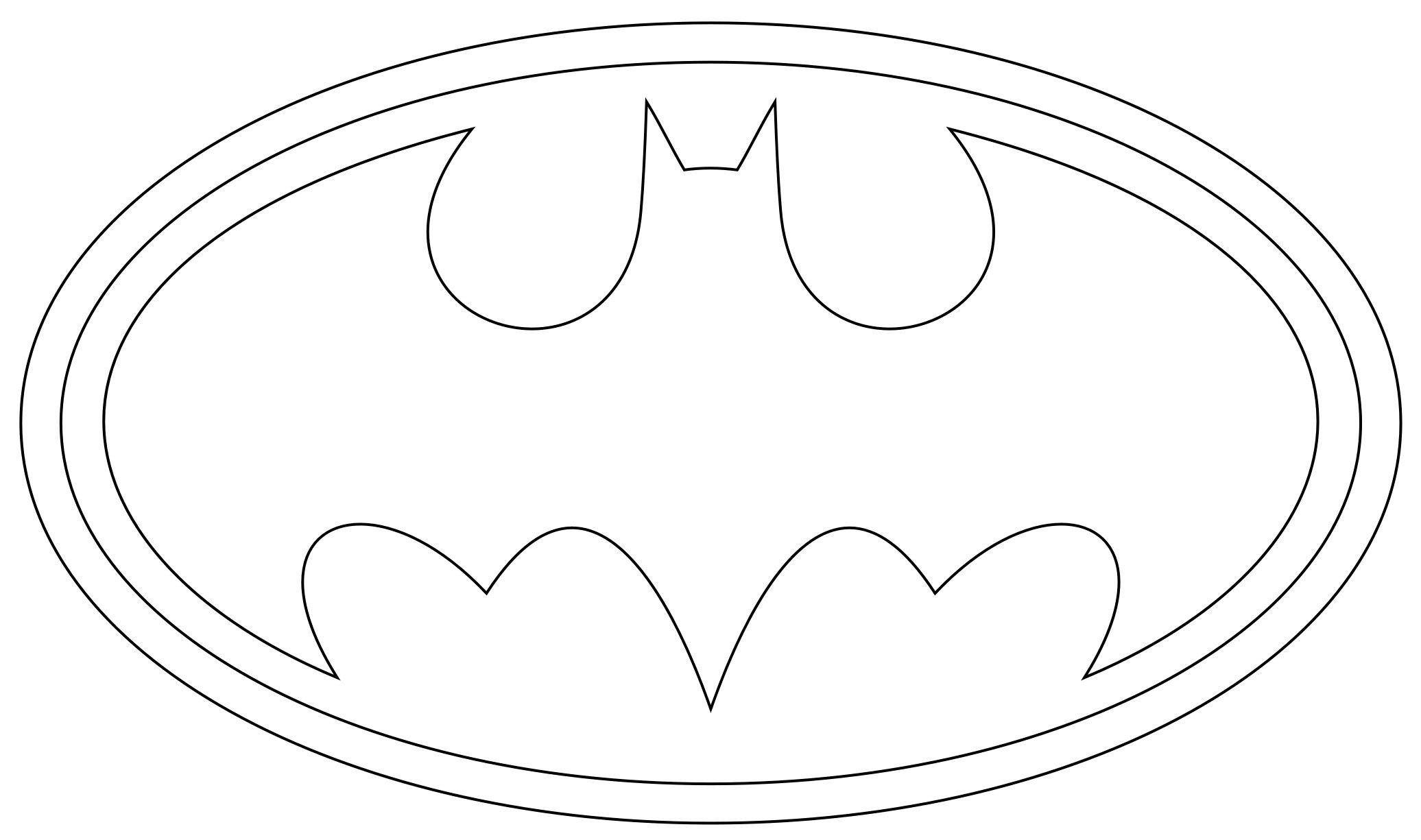 Printable Superman Logo Template