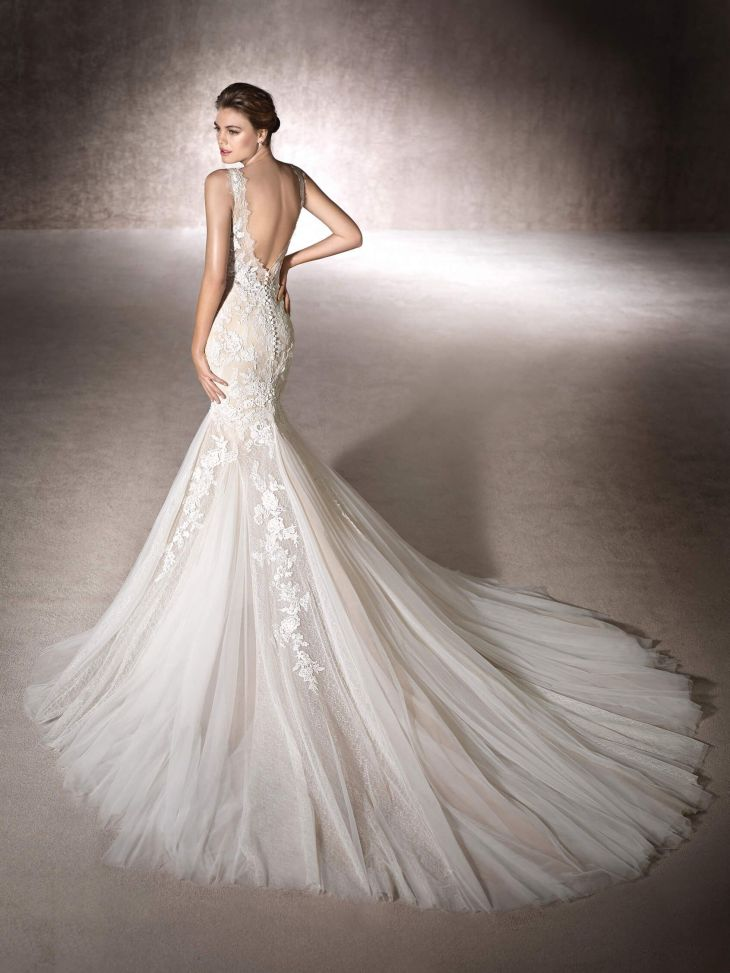 Mermaid wedding dress Monaco  MermaidRuffle Wedding Dresses